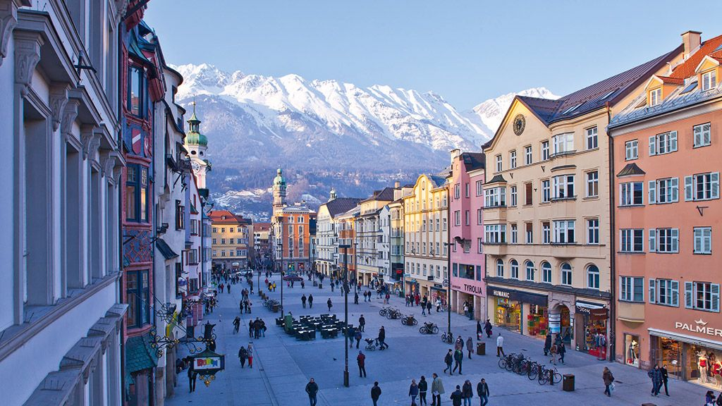 The city of Innsbruck
