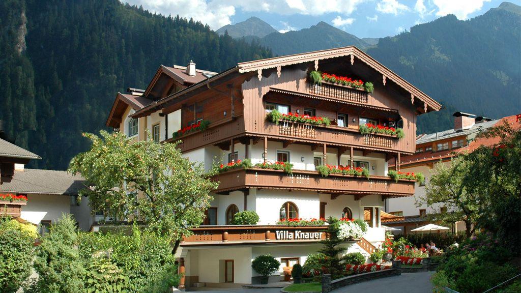 Appart hotel garni villa knauer mayrhofen 3 sterren for Appart hotel 2 moraira