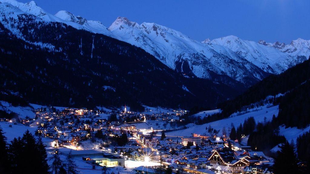 Фото альпы зимой