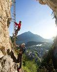 Steinwand Klettersteig Pitztal