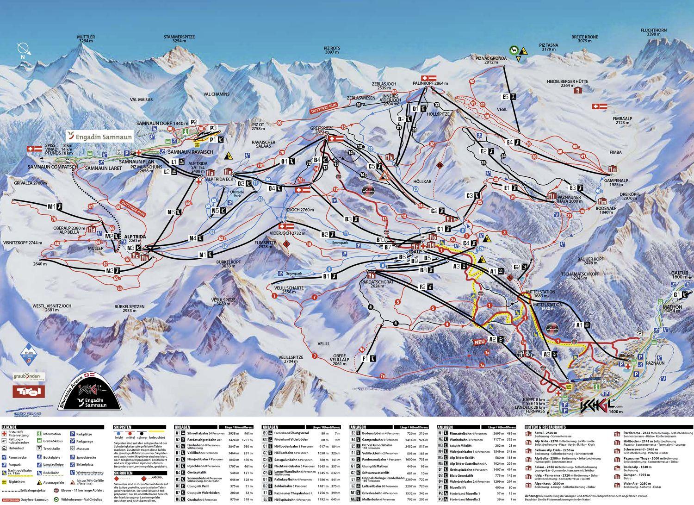 Skigebiet ischgl silvretta ski arena tirol hotels for Designhotel skigebiet