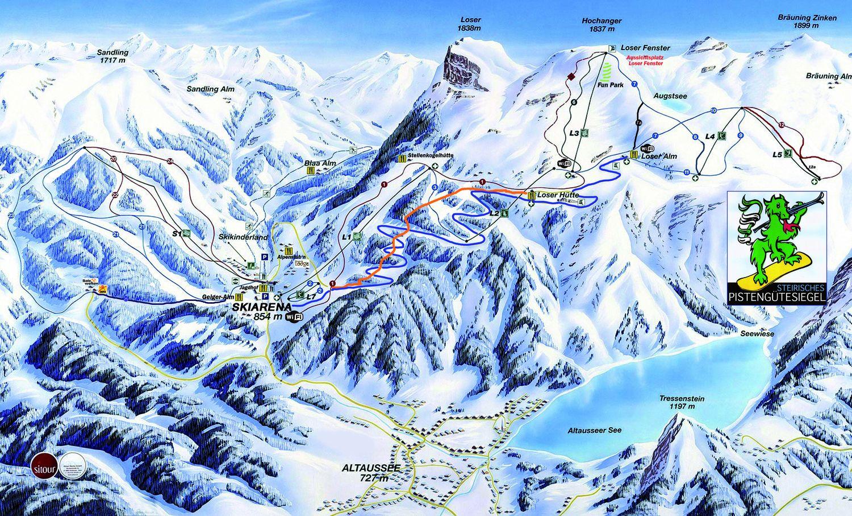 Bildergebnis für loser skigebiet