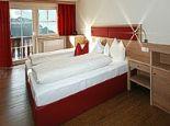 PANORAMA-SUITE Schlafraum - Appart & Hotel garni VILLA KNAUER Mayrhofen