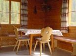Küche/Wohnzimmer Almhütte Gutwenger