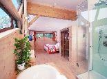 Spa Suite mit Blick auf Sonnenspitze - Family Wellnesshotel Tirolerhof Ehrwald
