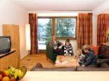Wohnzimmer Top 1 - Appartements Jaegerhof Wildschoenau