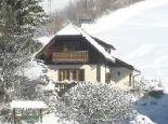 Wiesenhäusl im Schnee - Urlaub am Weissensee Obergasserhof & Bergblick Weissensee