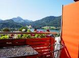 Seeblick vom Balkon - Bergblick Fuschl am See