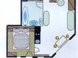 Plan Typ B - Jochum Appartements Wildschoenau