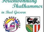 Ferienwohnung Thalhammer in Bad Goisern - Ferienwohnung  Maria Thalhammer Bad Goisern