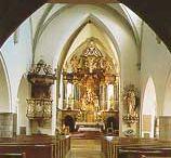 Stadtpfarrkirche Gmunden mit Schwanthaler-Altar