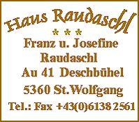 Haus Raudaschl - Haus Raudaschl St. Wolfgang