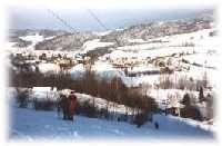 Kicking Ski Lift
