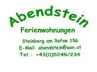 """Ferienwohnungen Haus """"Abendstein"""" - Ferienwohnungen Haus"""