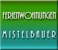 Ferienwohnungen Mistelbauer **** Logo grün-türkis 3D - Ferienwohnungen Mistelbauer **** Faaker See