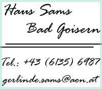 Haus Sams Bad Goisern - Haus