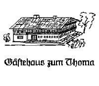 Gaestehaus Thoma/Kandlinger Kreuth Tegernsee Urlaub buchen Alpen Oberbayern - Gaestehaus zum Thoma/Kandlinger - Kreuth-Enterfels Kreuth