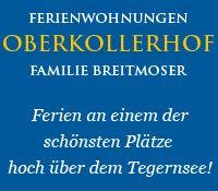 Oberkollerhof Gmund Tegernsee Urlaub buchen Alpen Oberbayern - Am Oberkollerhof/Fam. Breitmoser neue Fewo's Gmund a.T.