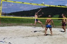 Beach-Volleyballplatz im Kollerado