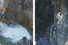 Klettersteige Galitzenklamm
