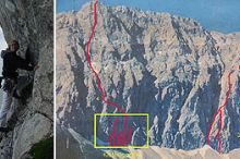 Climbing Routes - Porze Nordwand
