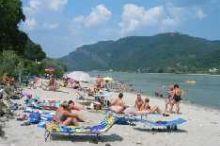 Flußbad an der Donau