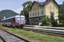 Bahnhof Grünau im Almtal