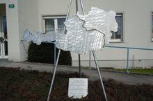 Stahlplastik ungeteiltes Österreich