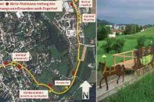Auf den Spuren der Pferdeeisenbahn - Themenweg