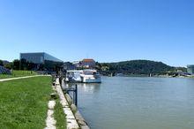 Donaupark - Herbert Bayer, forum metall und Peter Behrens