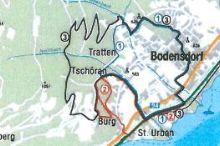 Nordic Walking- Touren in Bodensdorf