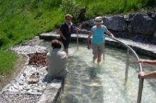 Kneipp-Wassertretanlage