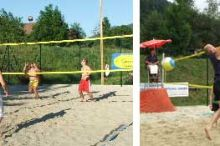 Beach Volleyballplatz