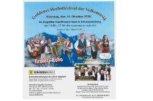 Goldenes Herbstfestival der Volksmusik