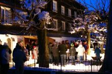 Illuminierung des Schwarzenberger Christbaumes