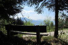 Aussichtspunkt am Weg zur Radstattkapelle