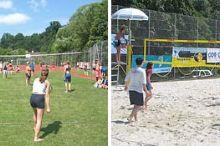 Beach-Volleyball in Zwettl und Umgebung