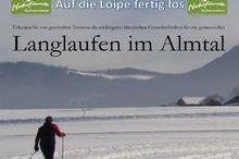 Almtal Loipe Gesamtinformation im Gemeindegebiet von Scharnstein