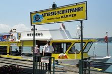 Attersee-Schifffahrt - Pier Kammer