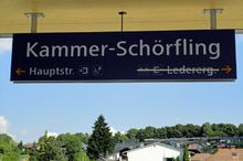 Bahnhof Kammer-Schörfling