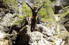 Canyoning Team Strubklamm