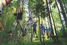 Woodland climbing park Faistenau
