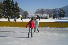 Ice rink in Faistenau