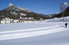 Cross-country skiing trails Fuschl am See