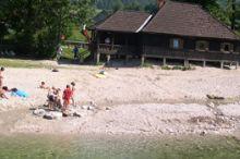 Flussbad in der Ybbs