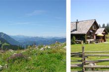 Almwanderung Siebenhütten - Vierhütten - Kitzhütte