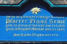 Franz-Senn-Denkmal