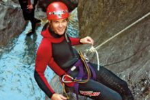 Canyoning in the Imst holiday region