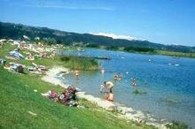 Kąpielisko nad jeziorem St. Johann