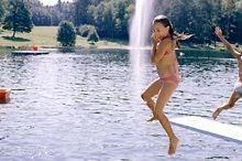 Sluneční jezero Ritzing